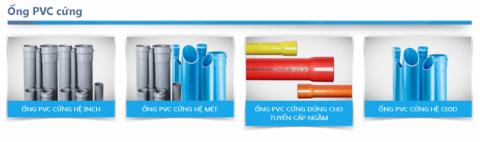 Ống nhựa bình minh dài bao nhiêu ? Độ dài tất cả các loại ống
